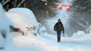 Snow blankets mid-Atlantic states