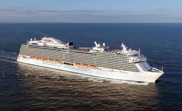 Princess Cruises' Royal Princess debuted in spring 2013.