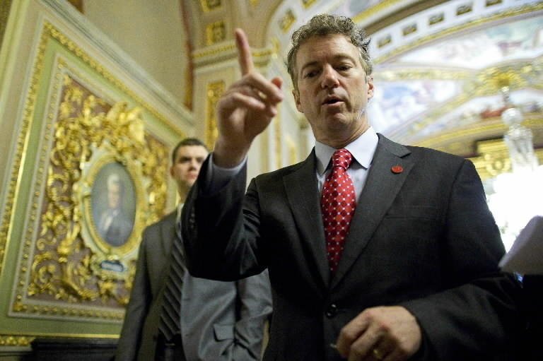 Republican Sen. Rand Paul of Kentucky.