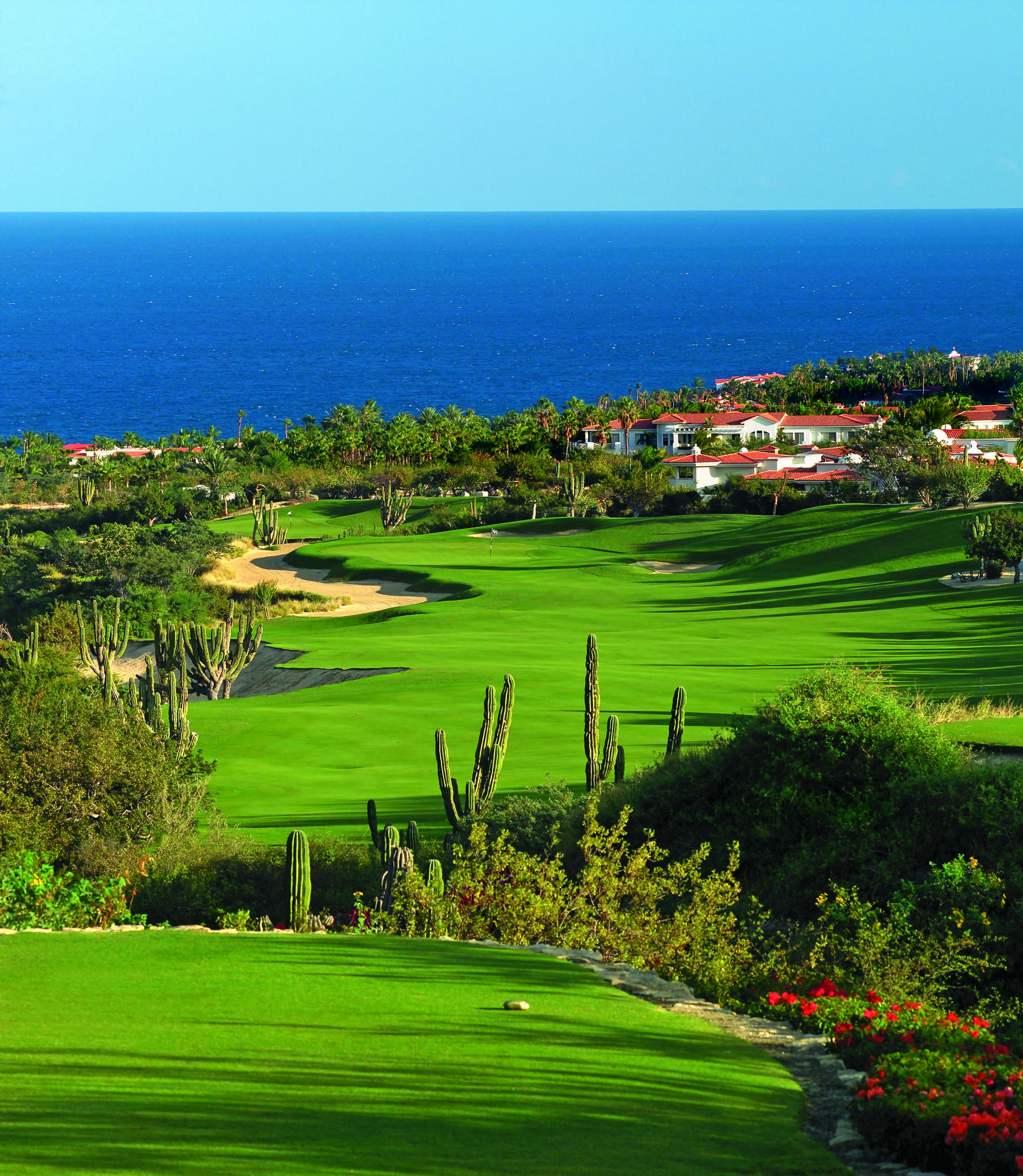 Jack Nicklaus' three nines at the One & Only Palmilla Resort in Los Cabos, Mexico climbs into the desert, then descends back toward the ocean.