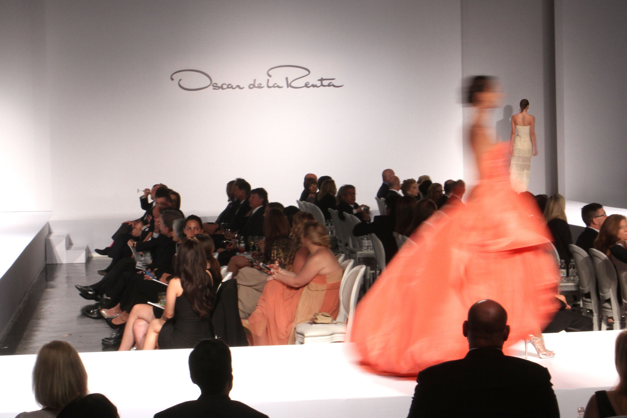Oscar de la Renta fashion charity show in Miami - Designed For A Cure 2014 Benefiting Sylvester Comprehensive Cancer Center