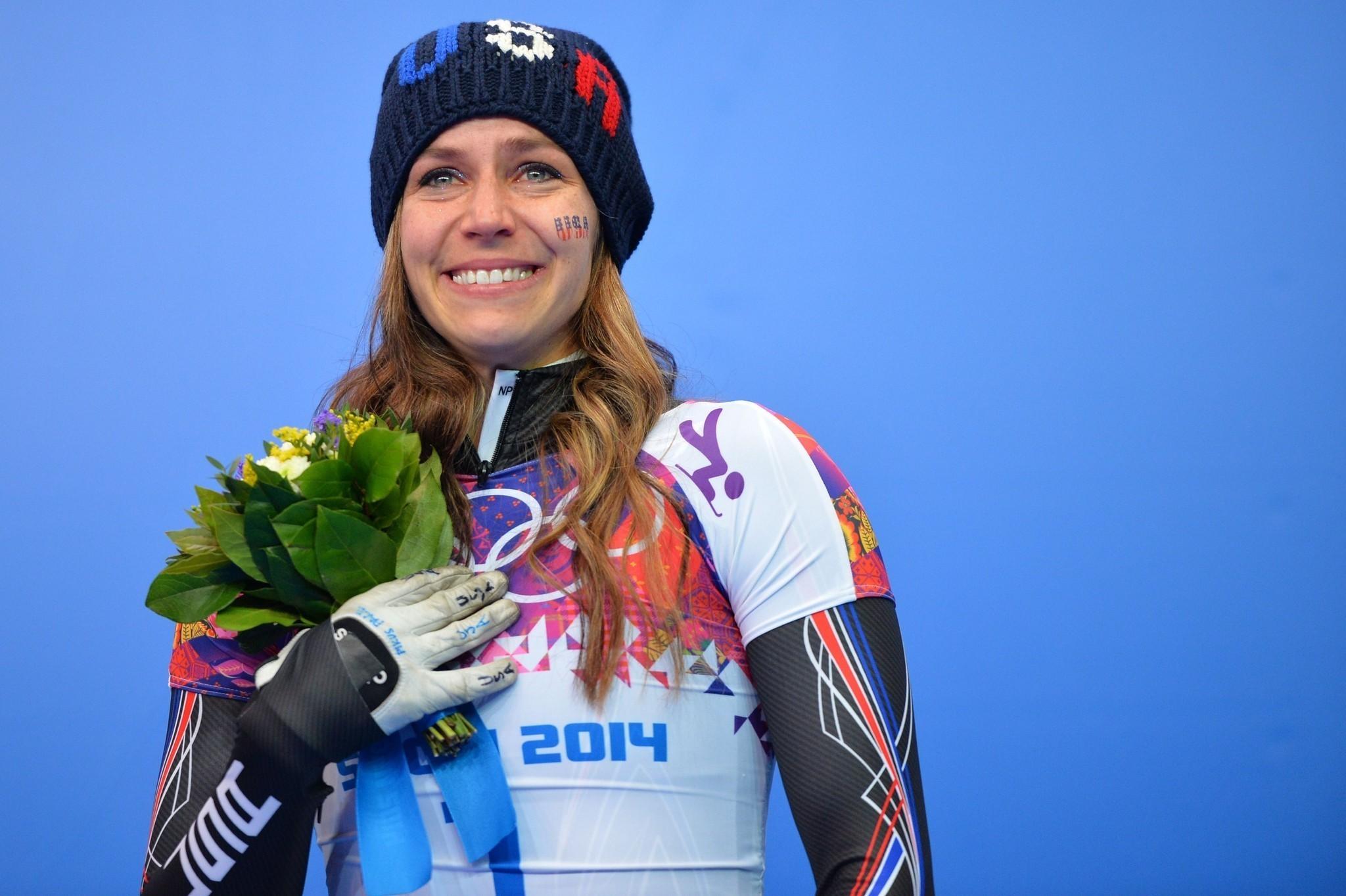 Sochi Olympics: Noelle Pikus-Pace takes silver in women's skeleton