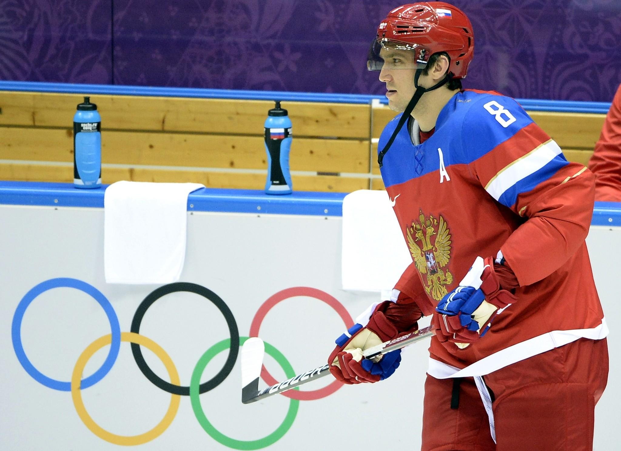 Alexander Ovechkin and his Russian team will face the United States on Saturday at the Bolshoy Arena.