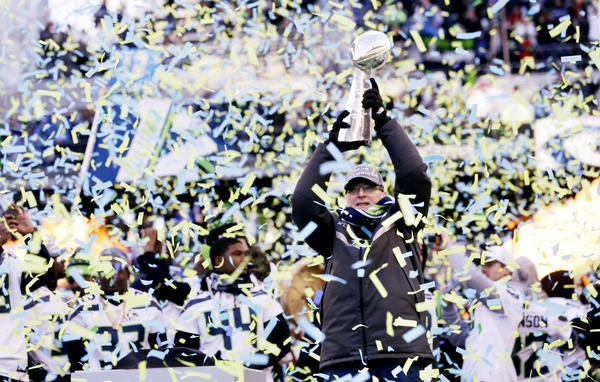 Seattle Seahawks celebration