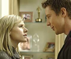 Kristen Bell and Jason Dohring on 'Veronica Mars'