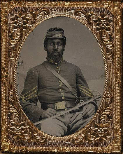Black cavalrymen battle Confederates in Suffolk