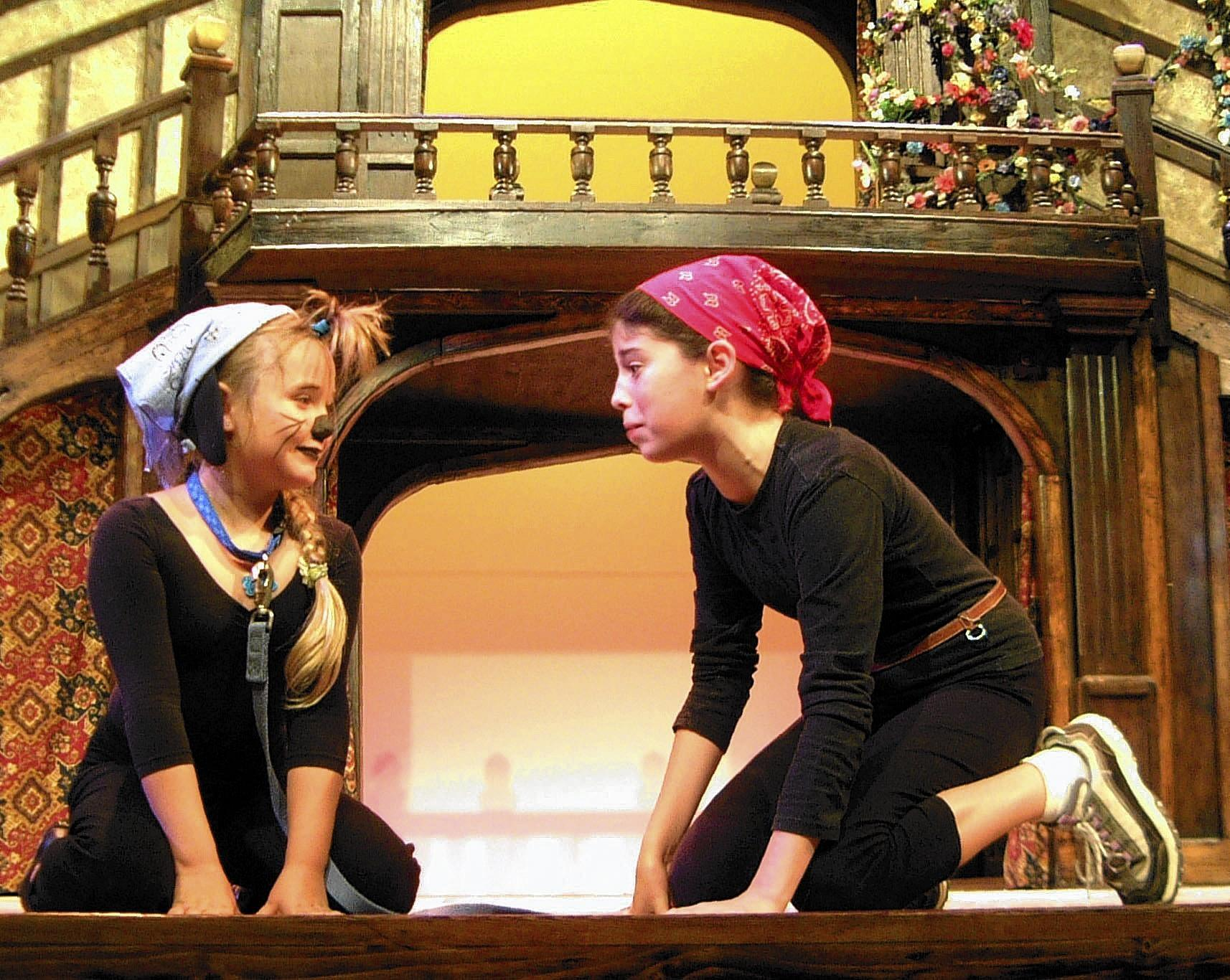 The Virginia Shakespeare Festival's Camp Shakespeare summer program gives teens ages 10-17 the opportunity to learn about and perform Shakespeare.