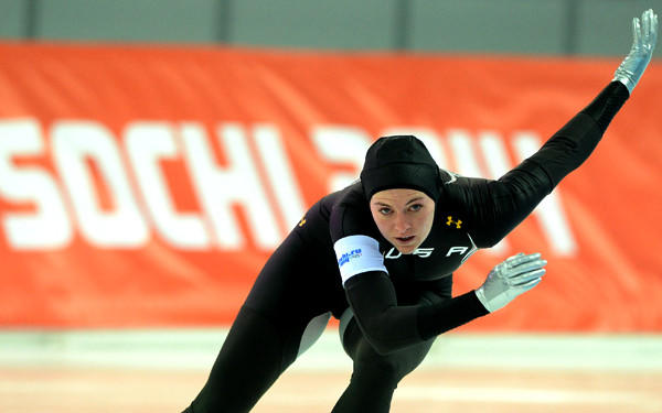 Speedskater Heather Richardson is ranked No. 1 in the world at 1,500 meters and will get a chance to earn America's first medal at the Sochi Olympics on Sunday.