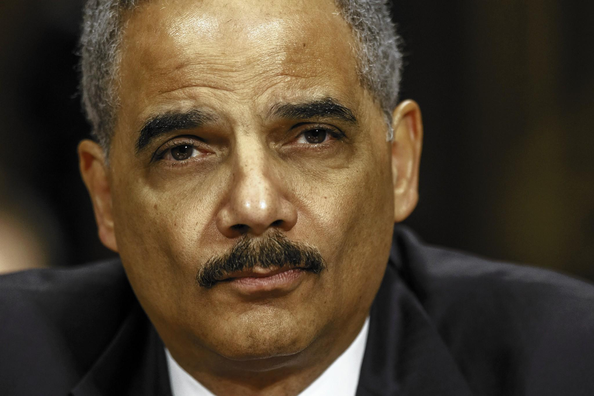 """I am focusing on issues — really focusing on issues — in these last few weeks that have been near and dear to me for as long as I've been a lawyer,"" Atty. Gen. Eric H. Holder Jr. said in a recent interview."