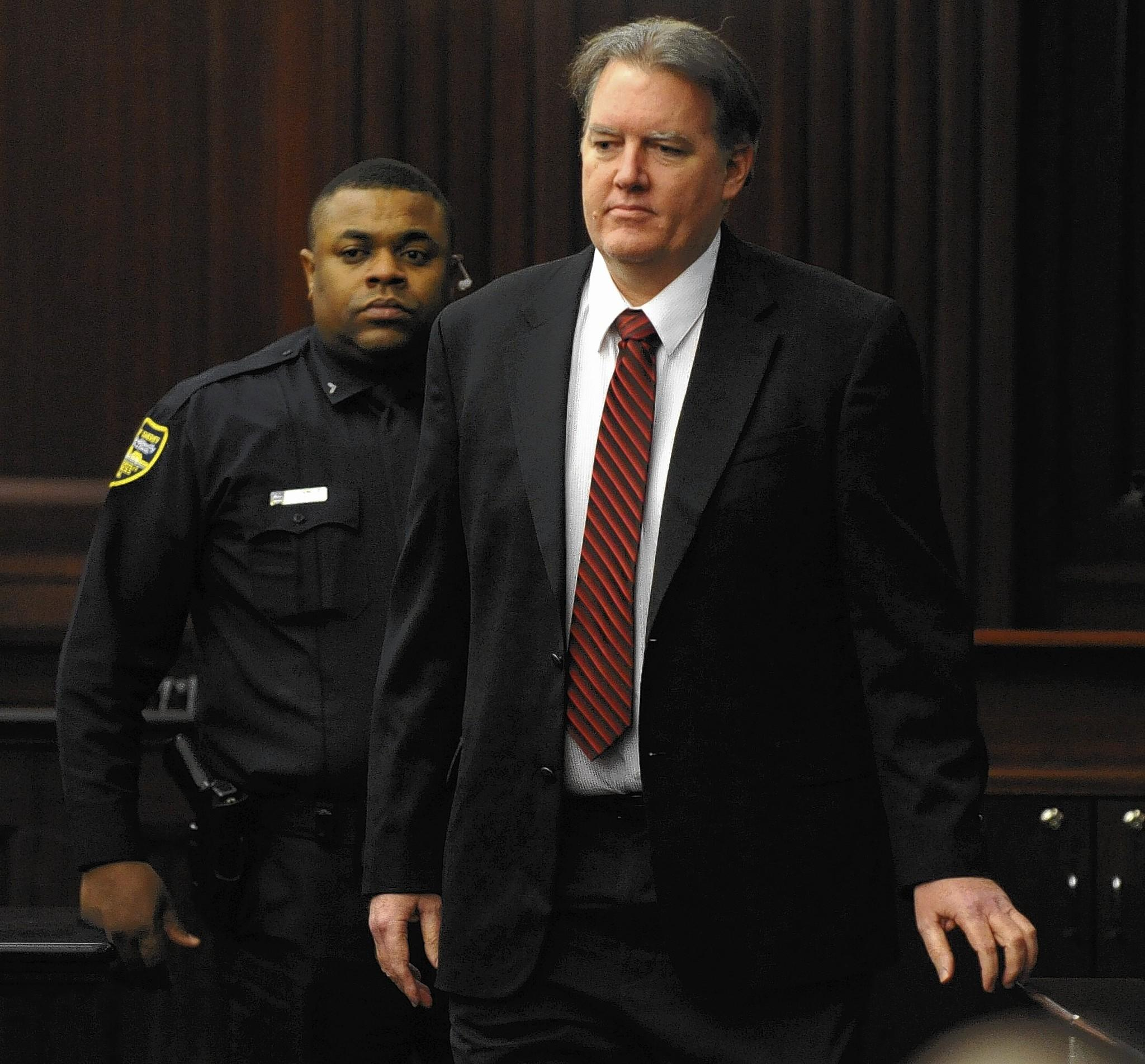 Michael Dunn had faced a first-degree murder charge in the killing of unarmed teenager Jordan Davis in Florida after a dispute over loud music. A jury was unable to agree on that charge but convicted him on lesser charges that require at least 60 years in prison.