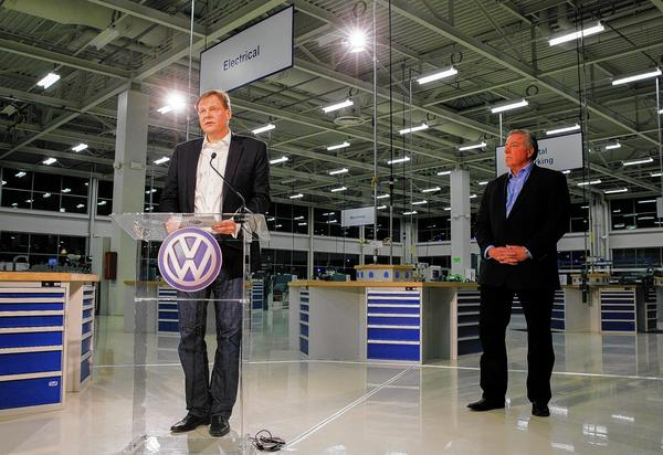 VW plant in Chattanooga, Tenn.