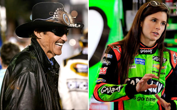 Richard Petty, Danica Patrick