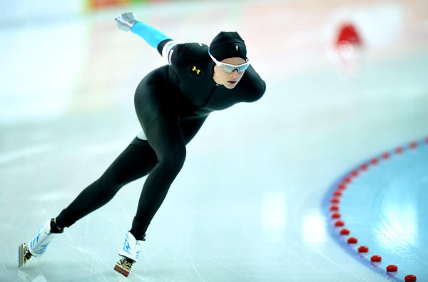 Although American speedskater Brittany Bowe was ranked second in the world, she could not crack the top 10 at the Sochi Olympics in the women's 1,500 meters on Sunday at Adler Arena.