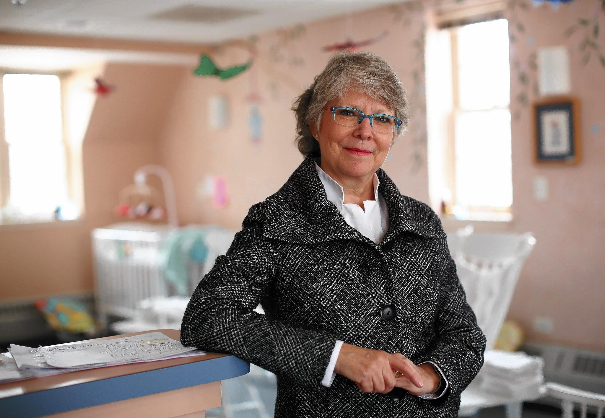 """Julie Tye, president and CEO of The Cradle adoption agency in Evanston: """"People say I'm competitive, and that has a grain of truth to it, but I'm mainly collaborative. My motto is: If you can't join 'em, beat 'em."""""""