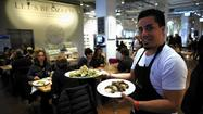 Le Verdure at Eataly: Throw caution, and meat, to the wind