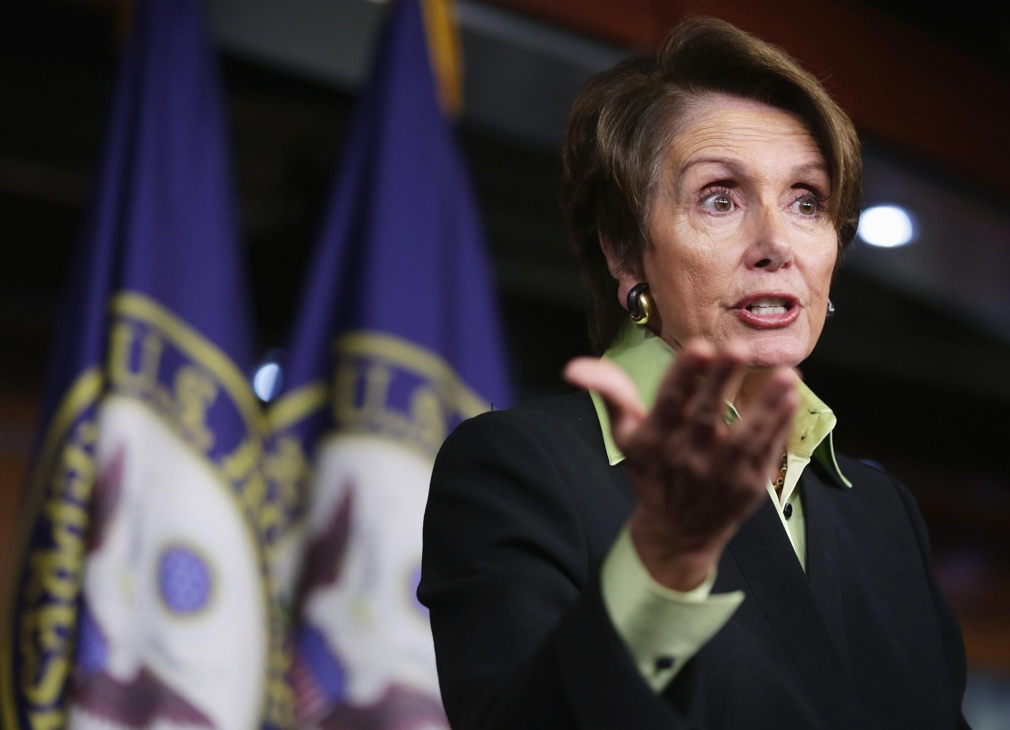"""House Minority Leader Nancy Pelosi said the Affordable Health Care Act would allow people to not be tied to their jobs. """"Think of an economy where people could be an artist or a photographer or a writer without worrying about keeping their day job in order to have health insurance."""""""