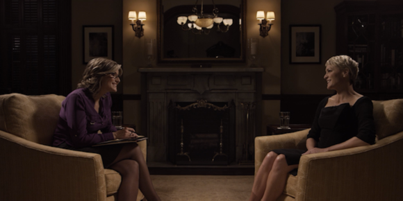 Ashleigh Banfield sits with Robin Wright for a revealing live TV interview.