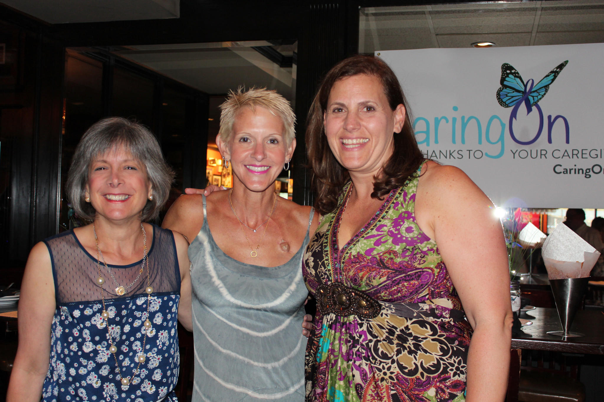Lee Kappelman, Judy Davanzo and Julie Hettleman of CaringOn.