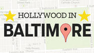 Hollywood in Baltimore Map