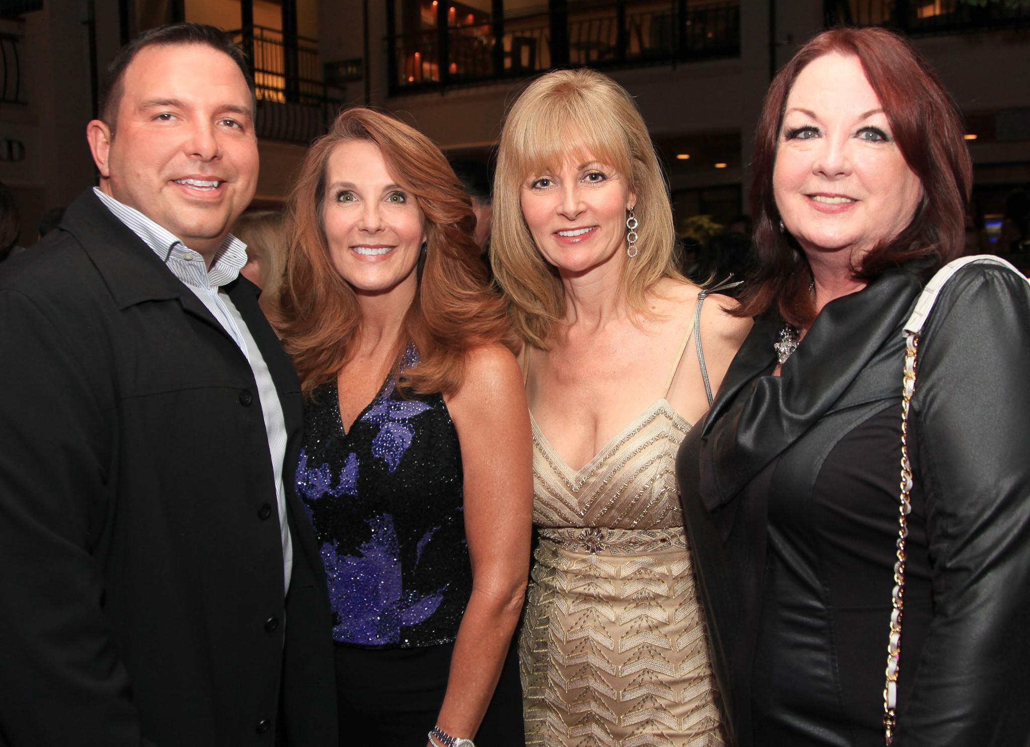 Society Scene photos - Michael Berry, Cheryl Casey, Debbie Savage and Patty Sacco