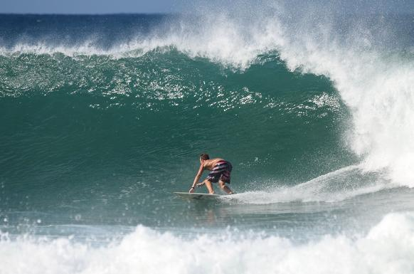 Surfing is a big draw in Rincon, where waves top out at 25 or 30 feet high.