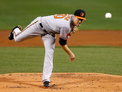 It took awhile for him to get here, but Tillman arrived as a top-flight starting pitcher last season and figures to be on the mound when the Orioles open the regular season against the Boston Red Sox on Mar. 31. There is still some upside after last year's 16-7 performance, but there also is some potential downside. The original scouting reports say that the upside wins.
