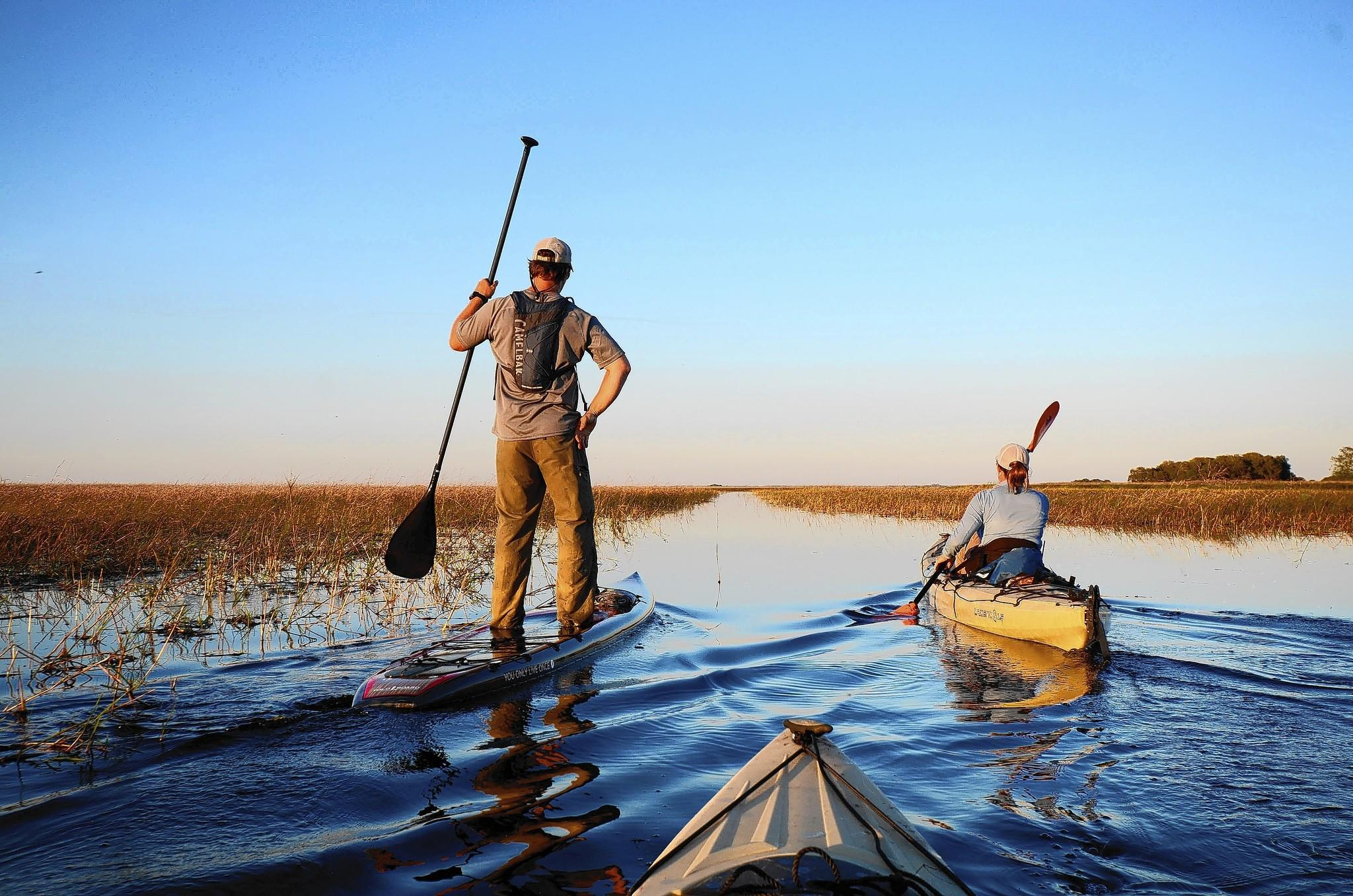 The Florida Wildlife Corridor Expedition included this trip across the Everglades.