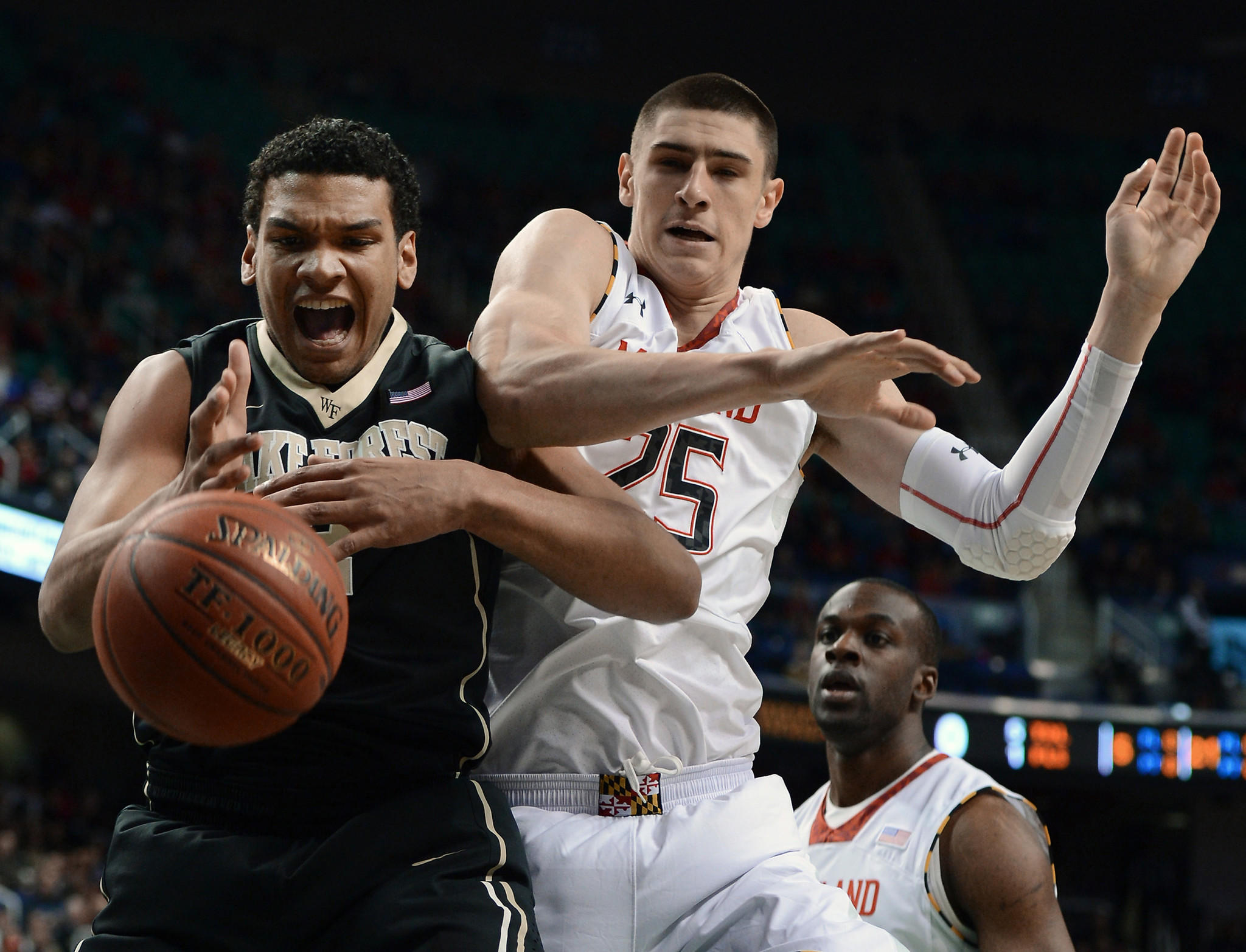Wake Forest's Devin Thomas went toe-to-toe with Alex Len on multiple occasions as a freshman last season.