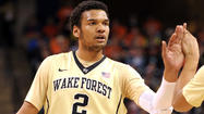 Wake Forest's Devin Thomas is more than just Alyssa's little brother