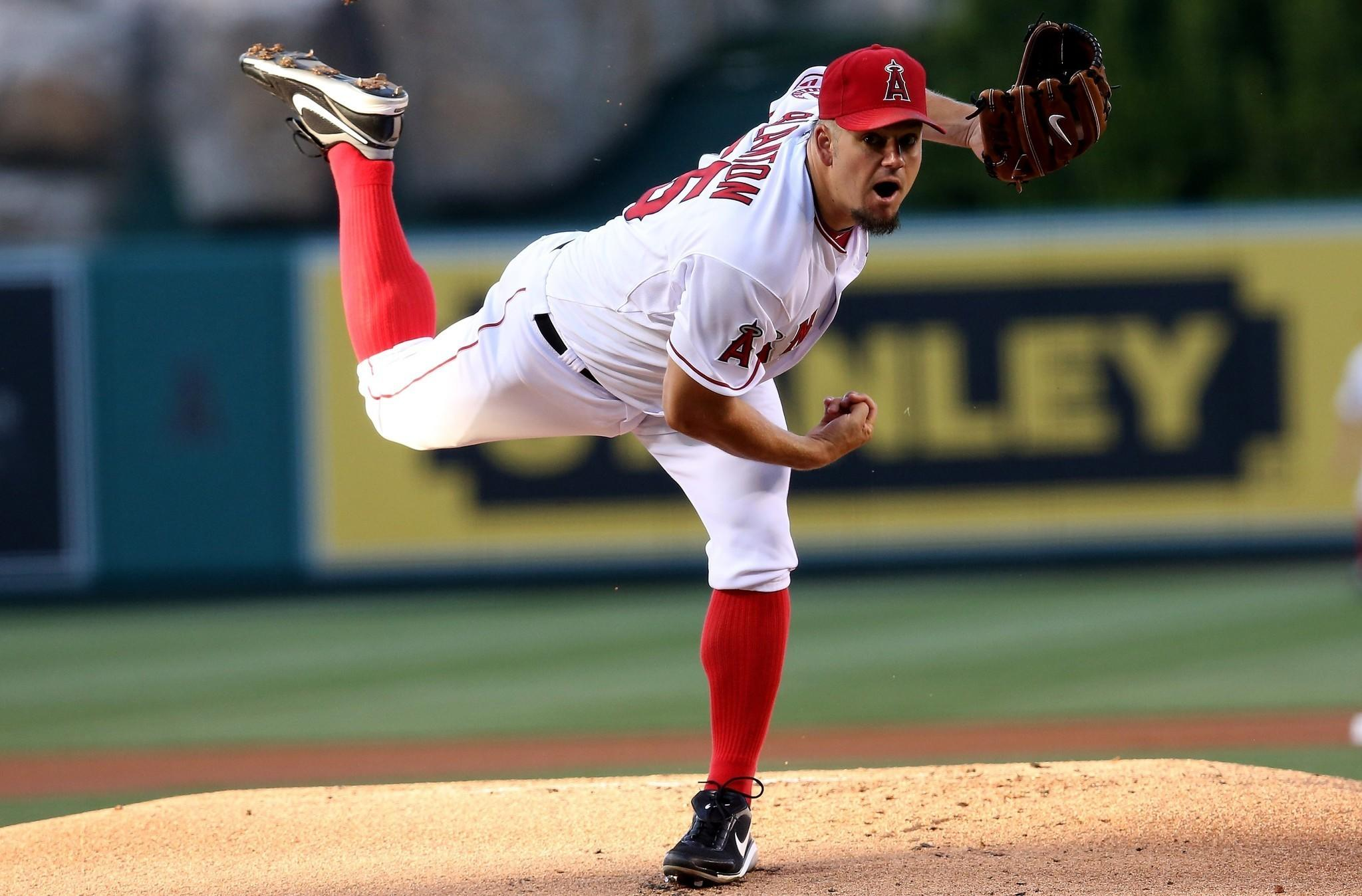 Veteran right-hander Joe Blanton made 28 appearances for the Angels last season, including 20 starts. He had a 2-14 record with a 6.04 earned-run average.