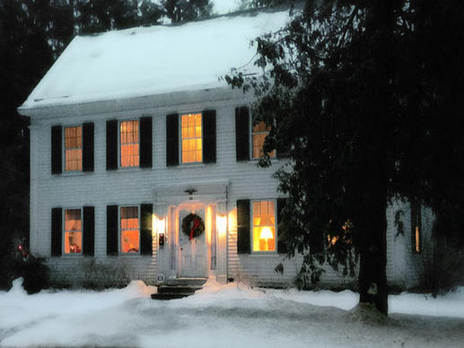 Harriet Beecher Stowe rented a room in this house in Brunswick, Maine,  to write the watershed anti-slavery novel. The house is for sale at $3 million.