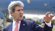 Kerry visits Tunisia, encourages country's steps toward democracy