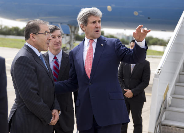 John Kerry, Mongi Hamdi, Jake Walles