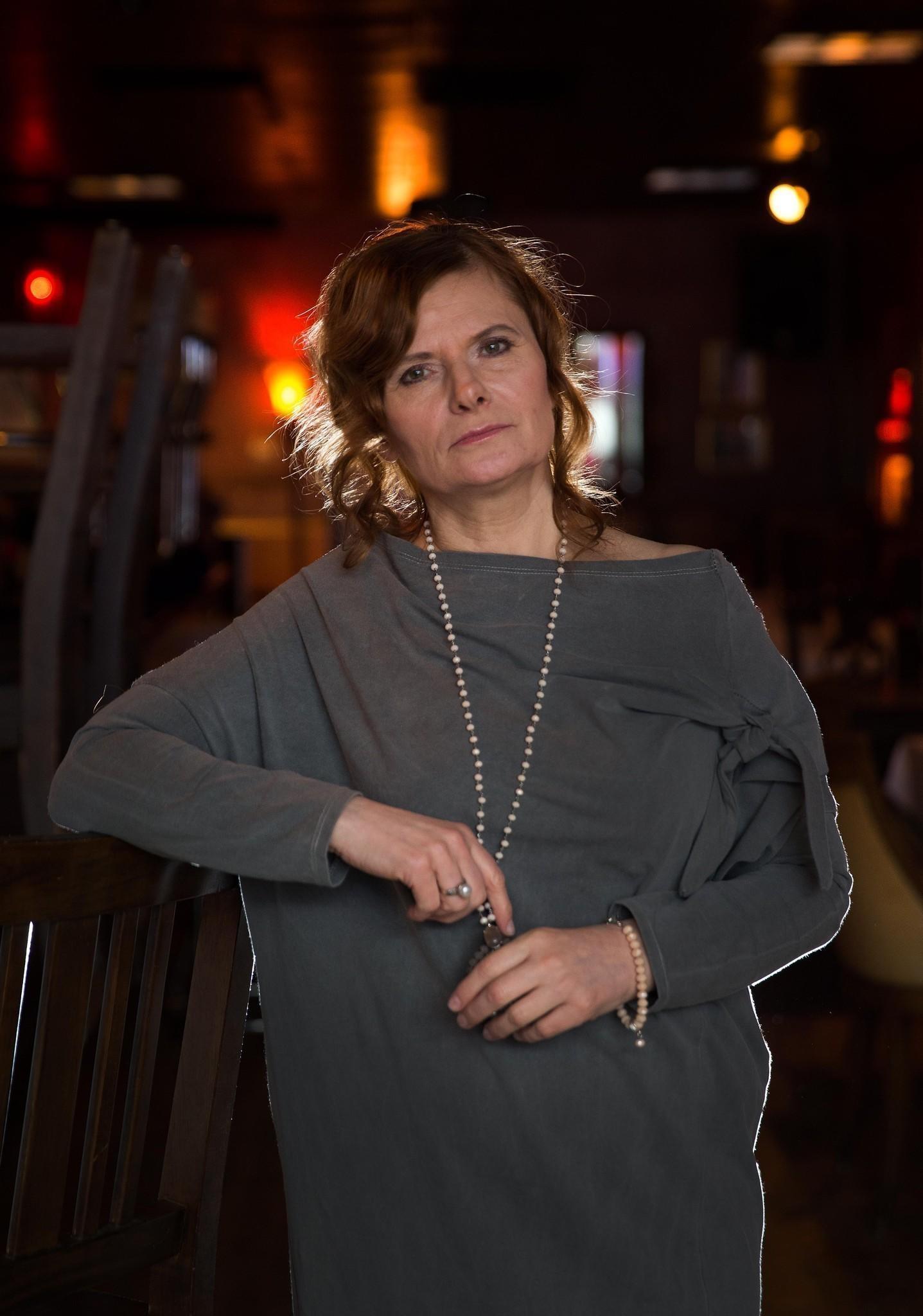Jazz singer Grazyna Auguscik at Katerina's in Chicago.