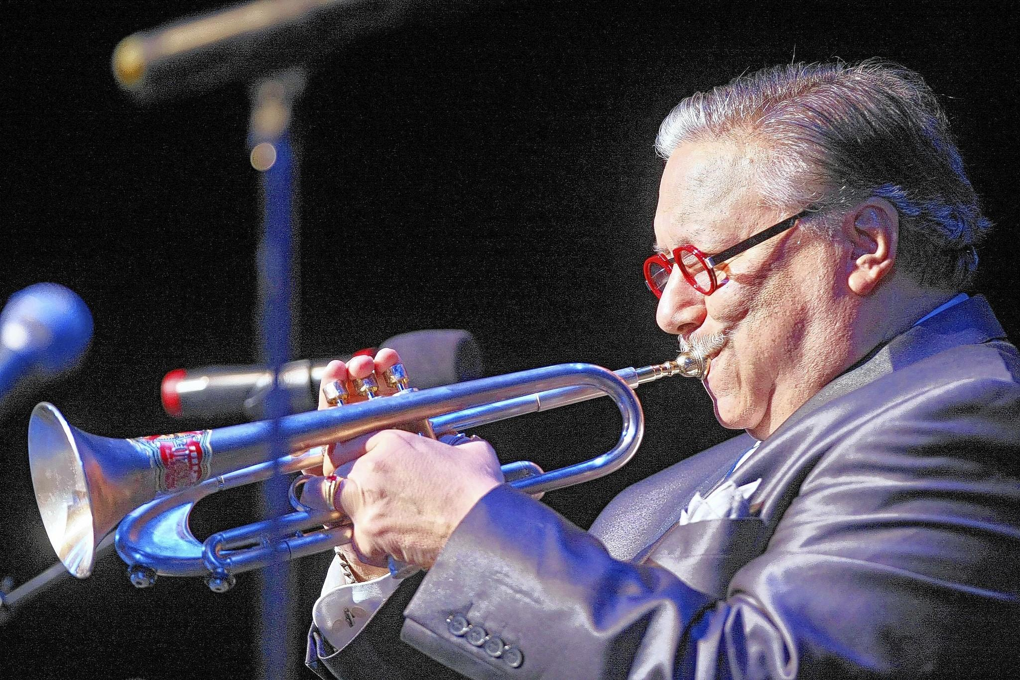 Musician Arturo Sandoval played a benefit concert for the Arturo Sandoval Institute, Glendale Arts and Glendale Education Foundation at the Alex Theatre in Glendale on Saturday, Feb. 15, 2014.
