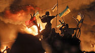 At least 9 slain in deadliest day of three-month Ukraine crisis