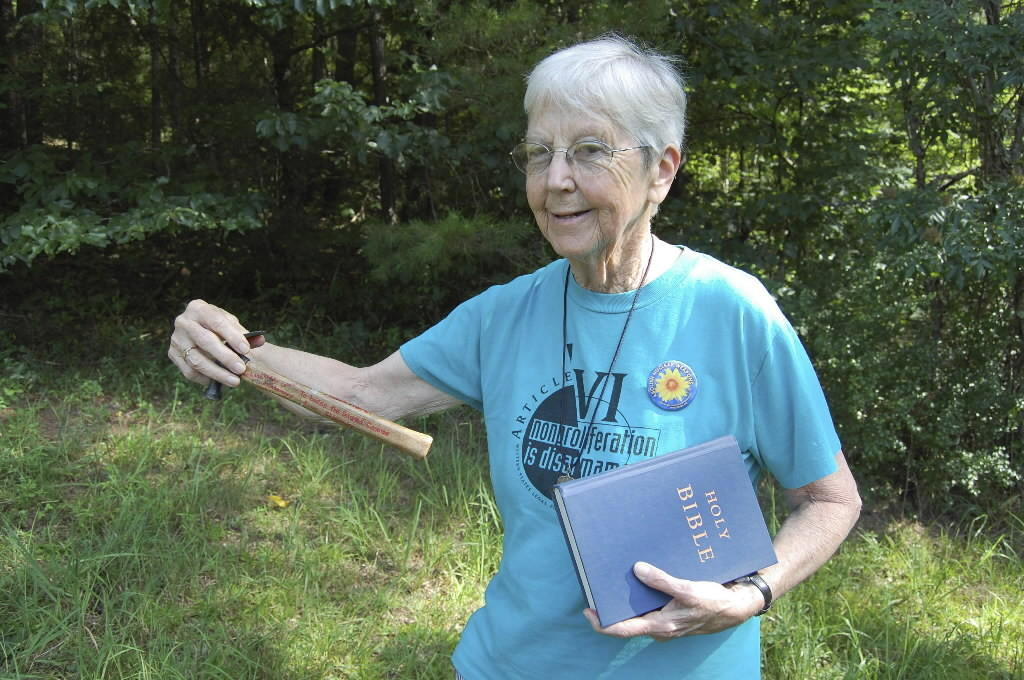 Megan Rice is pictured in this undated handout photo from Transform Now Plowshares. The 84-year-old nun and another anti-nuclear activist were charged with breaching security fences at one of the most sensitive U.S. nuclear facilities where weapons-grade uranium is kept, in Oak Ridge, Tennessee, August 3, 2012.
