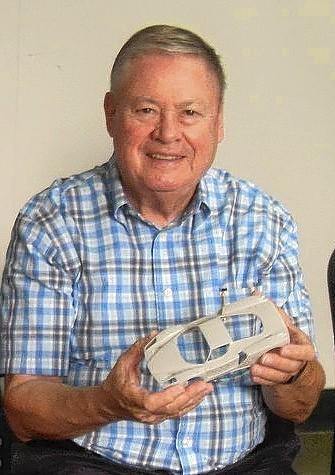 Roger J. Harney built model cars.
