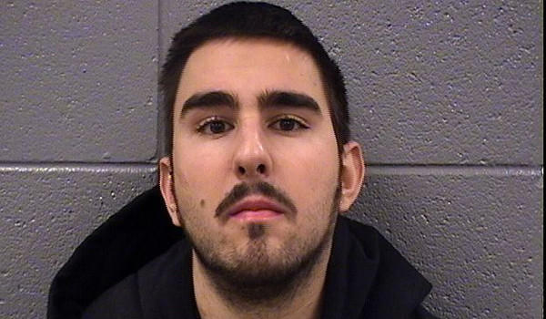 "Joshua Perva, 19, is accused of impersonating a Cook County Sheriff's officer on a platform at the Clark and Lake ""L"" stop after a police officer saw him loitering on the platform Monday as trains went by."