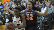 Powerful inside game guides Poly girls to win over City, 50-45