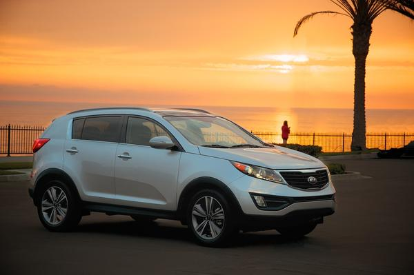 Kia is recalling nearly 12,000 of its Sportage compact crossover models to fix a label that incorrectly lists the recommended tire pressure.