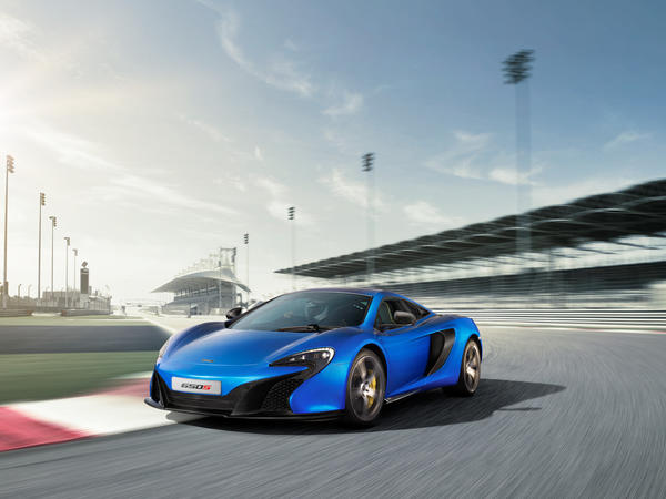 McLaren will debut the 650S at the Geneva Motor Show in early March. The car is largely based on the MP4-12C, though it has a modest boost in horsepower and a redesigned face that's similar to McLaren's $1.15-million P1 hypercar.