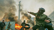 At least 25 killed in Ukraine as president alleges coup attempt
