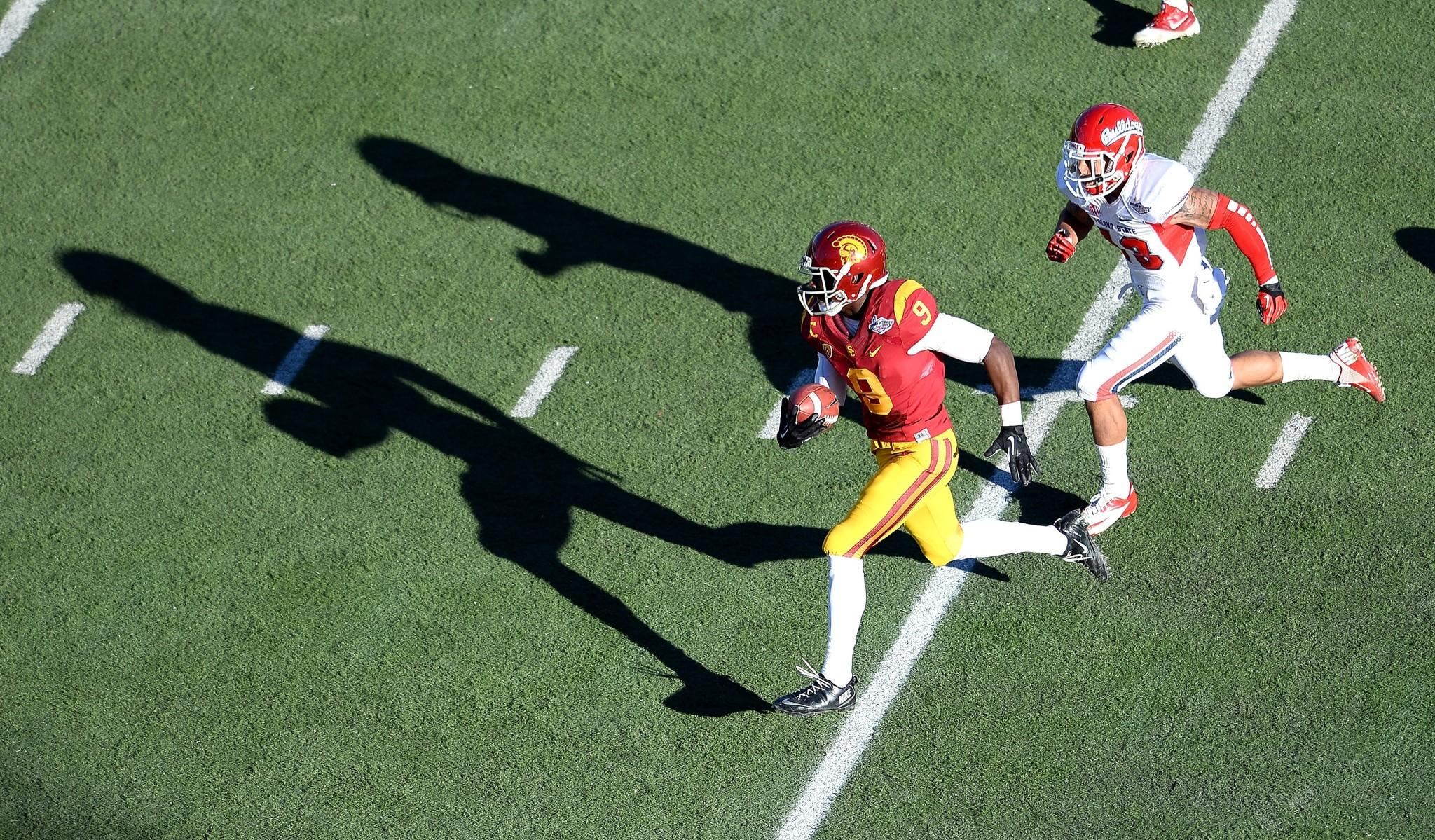 USC's Marqise Lee is one of several promising wide receivers in this year's draft class.
