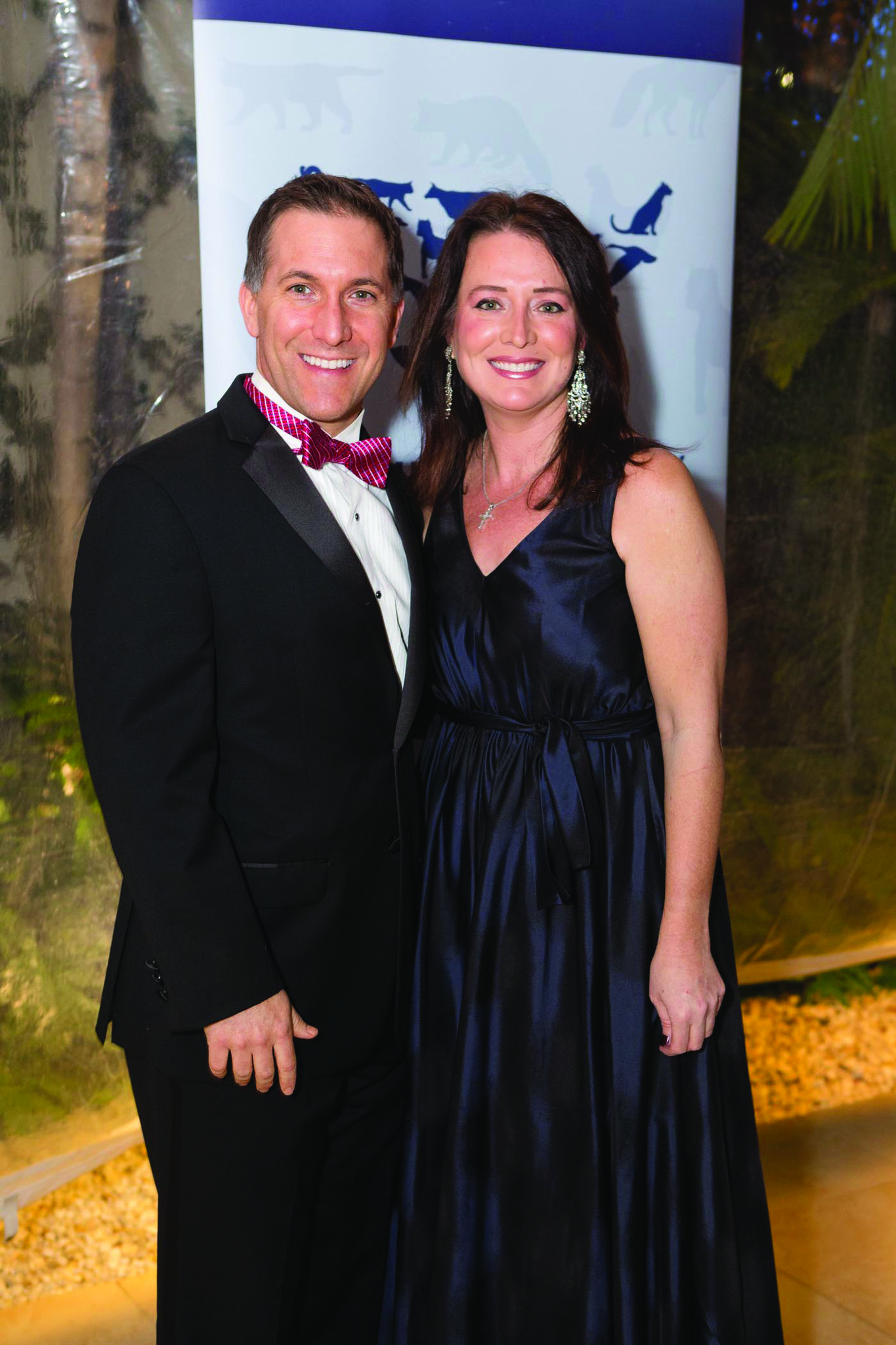 Society Scene photos - Palm Beach County State Attorney Dave Aronberg, left, and Terri Mersentes dazzled in formal wear for The Humane Society of the United States
