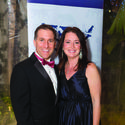 """Palm Beach County State Attorney Dave Aronberg, left, and Terri Mersentes dazzled in formal wear for The Humane Society of the United States' """"To the Rescue!"""" gala at Club Colette in Palm Beach Jan. 23."""