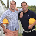 "Brad Caldwell, left, and Chris Knapp will attend YMCA of the Palm Beaches' 10th annual ""Polo for 'Y' Kids,"" to take place March 2 at noon at the International Polo Club. More than 450 guests will enjoy brunch and a silent and live auction, followed by the 26-Goal Finals for the CV Whitney Cup."