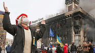 Europeans weigh sanctions on Ukraine authorities following crackdown