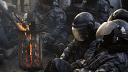 Ukraine threatens 'anti-terrorist operation' against protests