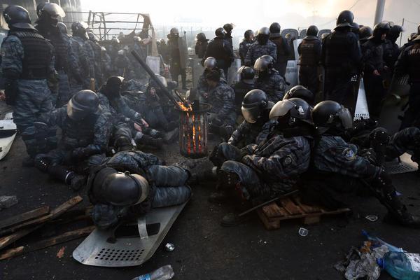 RIot police, Kiev